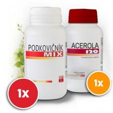 Podkovičník MIX + Acerola